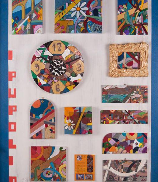 locandina collage